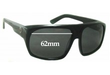 Sunglass Fix New Replacement Lenses for Dragon Bvld - 62mm Wide