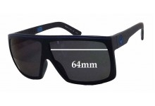 Dragon Fame H2O Floatable Replacement Sunglass Lenses - 64mm wide