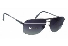 Dunhill Nylon Aviator Replacement Sunglass Lenses - 60mm wide