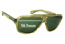 Dita Carbine Replacement Sunglass Lenses - 58.5mm wide