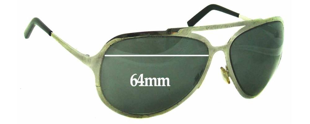 Dolce & Gabbana DG435 S Replacement Sunglass Lenses- 64mm Wide