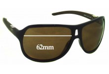 Dolce & Gabbana DG8006 Replacement Sunglass Lenses - 62mm wide