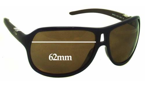 Dolce & Gabbana DG8006 Replacement Sunglass Lenses - 62mm wide