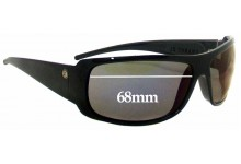 Electric Charge XL Replacement Sunglass Lenses - 68mm wide
