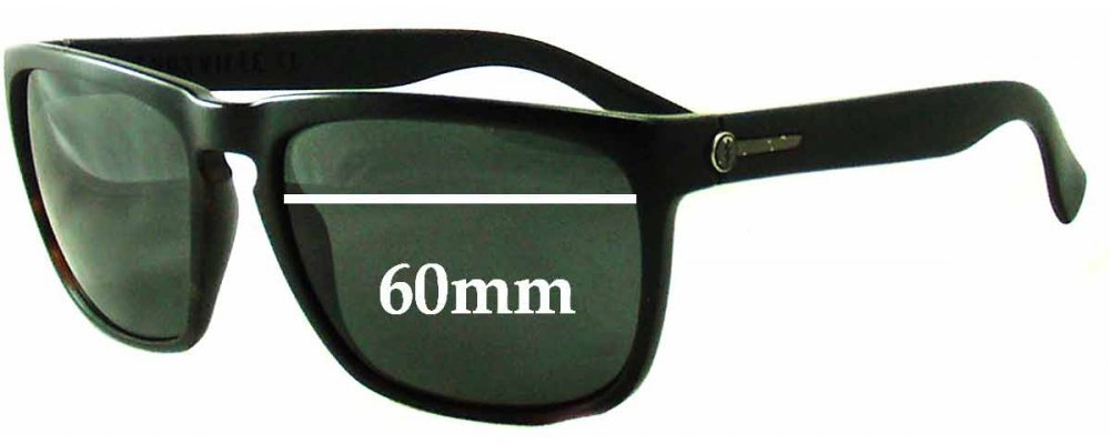 Electric Sunglasses Knoxville  knoxville xl replacement sunglass lenses 60mm wide frames will