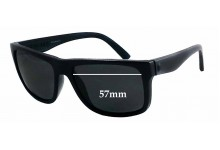 Electric Swingarm Replacement Sunglass Lenses - 57mm wide