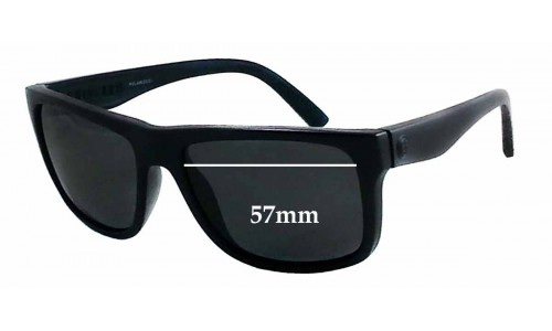SFX Replacement Sunglass Lenses fits Electric Swingarm S 57mm Wide