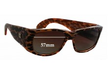 Emmanuelle Khanh 1601 Replacement Sunglass Lenses - 57mm wide