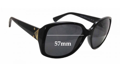 EMPORIO ARMANI EA 4018 Replacement Sunglass Lenses - 57mm wide x 52mm tall