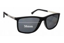 Emporio Armani EA 4058 Replacement Sunglass Lenses - 58mm wide