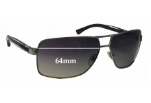 EMPORIO ARMANI EA2001 Replacement Sunglass Lenses - 64mm wide