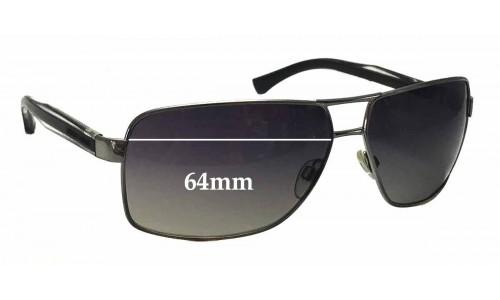 9416d35fce3d EMPORIO ARMANI EA2001 Replacement Sunglass Lenses - 64mm wide