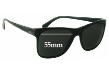 EMPORIO ARMANI EA 4002 Replacement Sunglass Lenses - 55mm wide