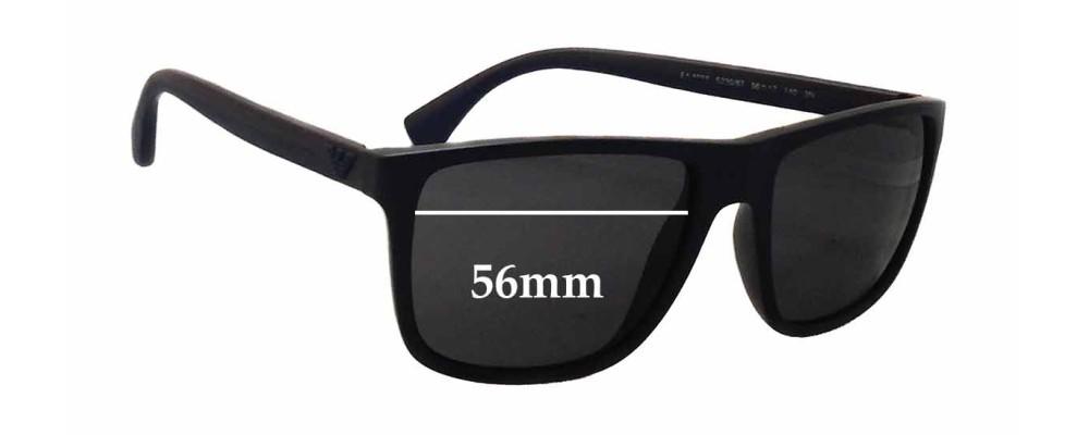 75076b202d71 Emporio Armani EA4033 Replacement Sunglass Lenses - 56mm wide