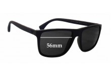 Emporio Armani EA4033 Replacement Sunglass Lenses - 56mm wide