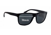 Emporio Armani EA 4035 Replacement Sunglass Lenses - 58mm wide