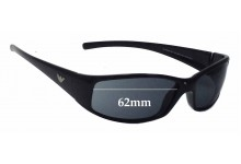 EMPORIO ARMANI 9031/S Replacement Sunglass Lenses - 62mm Wide