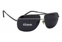 Ermenegildo Zegna SZ 3241 Replacement Sunglass Lenses - 61mm wide