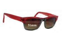 Etnia Chicago Replacement Sunglass Lenses - 51mm wide