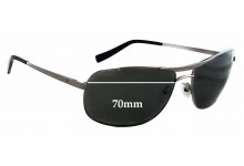 Fat Head F-H00144 The Law XL Replacement Sunglass Lenses - 70mm wide