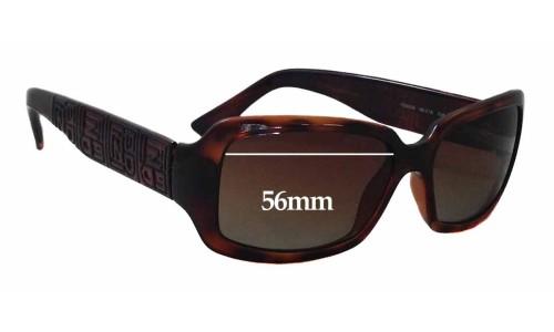 Fendi FS 5008 Replacement Sunglass Lenses - 56mm wide