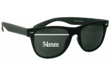 Ferris Sunnies Cotton On Replacement Sunglass Lenses - 54mm wide
