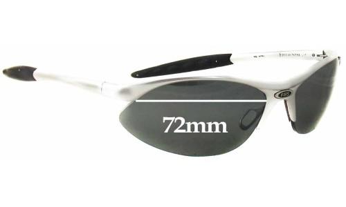Field & Stream F&S Aluminium Replacement Sunglass Lenses - 72mm wide