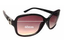 Fiorelli Sabrina Replacement Sunglass Lenses - 60mm wide