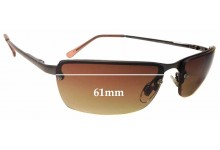 Fiorelli Unknown Replacement Sunglass Lenses - 61mm wide