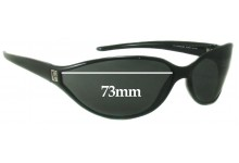 Sunglass Fix New Replacement Lenses for Furla Working Girl SU4544 - 73mm Wide