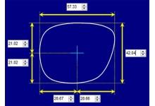 Flint Mcqueen Replacement Sunglass Lenses 57mm wide