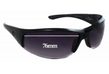 Sunglass Fix New Replacement Lenses for Gargoyles Cache - 76mm Wide