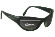 Sunglass Fix New Replacement Lenses for Gargoyles Strega - 62mm Wide