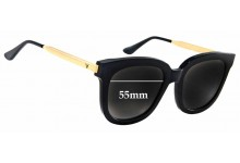 Gentle Monster Absente Replacement Sunglass Lenses - 55mm wide