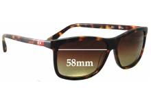 Sunglass Fix New Replacement Lenses for Gigi Barcelona Mod 403 - 58mm Wide