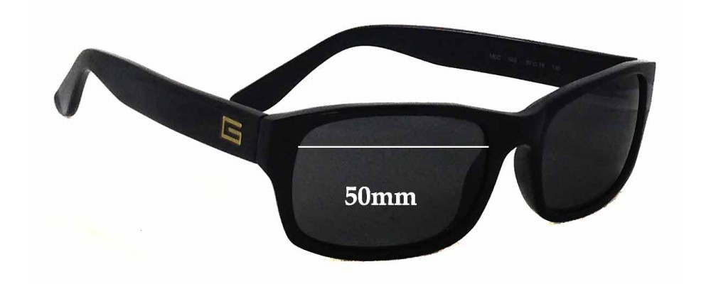 Gigi Barcelona Mod '688 Replacement Sunglass Lenses - 50mm wide