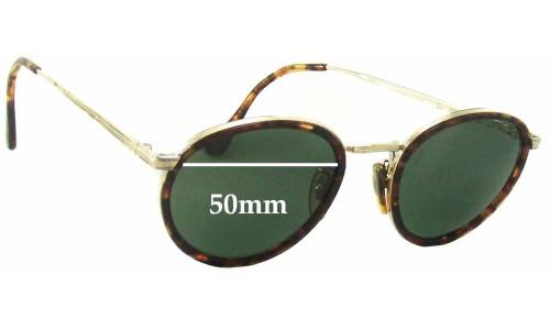 Giorgio Armani GA 101 713 Replacement Sunglass Lenses - 50mm wide