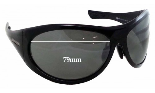 Giorgio Armani GA514S Replacement Sunglass Lenses - 79mm wide 44mm tall **The Sunglass Fix Cannot Provide Lenses For This Model Sorry**