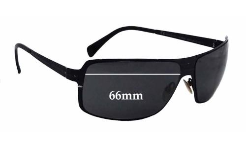 Giorgio Armani GA699/S Replacement Sunglass Lenses - 66mm wide