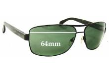 Giorgio Armani  GA 929S Replacement Sunglass Lenses - 64mm wide