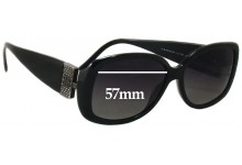 Givenchy SGV690S New Sunglass Lenses - 57mm wide
