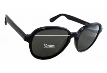 Graz - Geeg 046-1 Replacement Sunglass Lenses - 52mm wide - 47mm tall