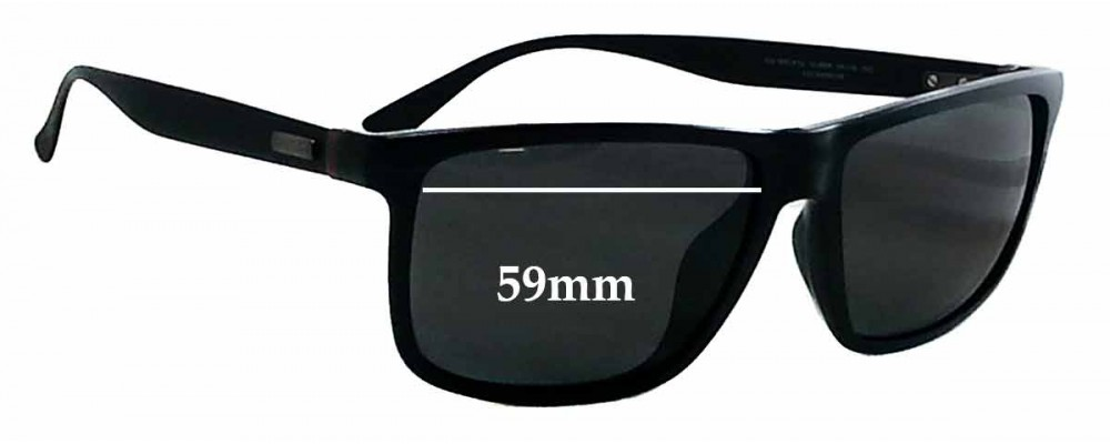 Gucci GG 1083/F/S Replacement Sunglass Lenses - 59mm wide