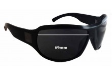 Gucci GG1562/S Replacement Sunglass Lenses - 69mm wide - 49mm tall