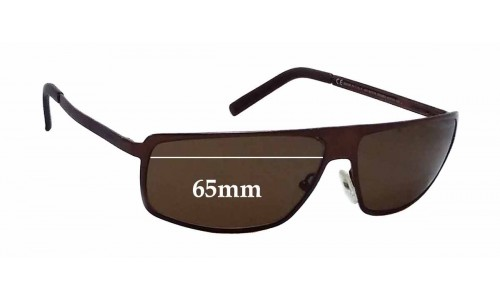 Gucci GG1826/S Replacement Sunglass Lenses - 65mm wide *The Sunglass Fix Cannot make lenses for these frames*