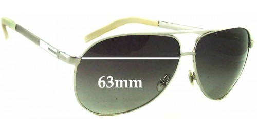 fabfd71d491 Gucci GG1827 S Replacement Sunglass Lenses - 63mm wide. Gucci GG 3157 S  Replacement Sunglass Lenses - 61mm