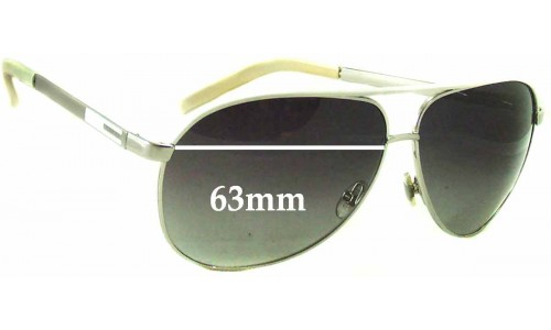 Gucci GG1827/S Replacement Sunglass Lenses - 63mm wide