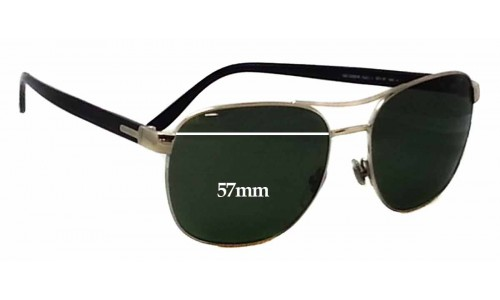 Gucci GG 2220/S Replacement Sunglass Lenses - 57mm wide