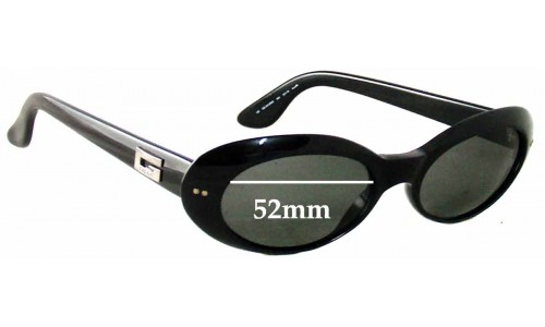 Gucci GG2413-N-S Sunglass Replacement Lenses - 52mm Wide