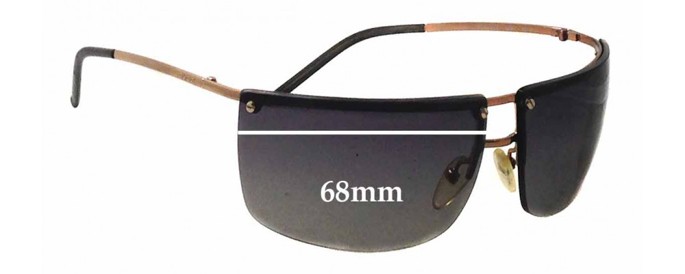 Gucci GG2653/S Replacement Sunglass Lenses - 68mm wide